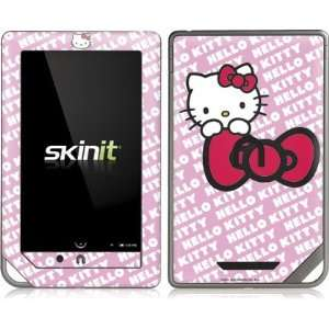Skinit Hello Kitty Pink Bow Peek Vinyl Skin for Nook Color