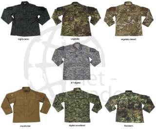 ACU Rip Stop Combat Uniform Jacke Army Parka S M L XL XXL XXXL