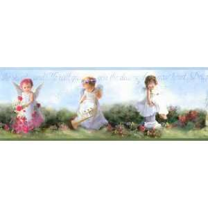 Inspirational Angel Wallpaper Border: Home Improvement