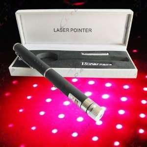 2 in 1 5mw 650nm Red Laser Pointer pen star (Black
