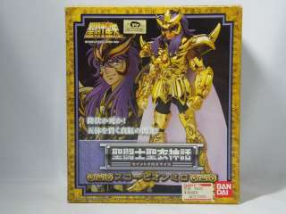 Saint Seiya CLOTH MYTH SCORPION MILO GOLD SAINT Bandai rare