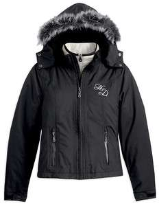 Harley Davidson Womens Nightstorm 3 in 1 Cold Weather Jacket (97487