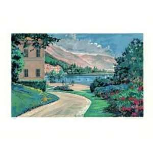 Lake Como Vista by Robert Schaar, 26x21: Home & Kitchen
