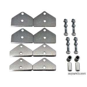 Lift Kit for Polaris RZR Stainless Steel (2 Inch