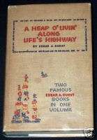 Edgar Guest A HEAP O LIVIN ALONG LIFES HIGHWAY 1933