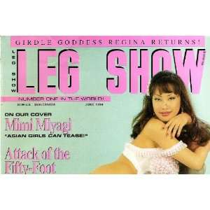 LEG SHOW MAGAZINE JUNE 1994 MIMI NIYAGI: LEG SHOW: Books