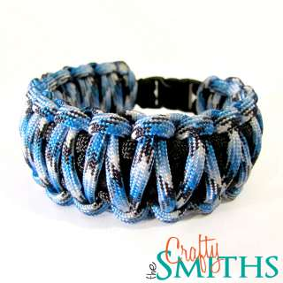 Rainbow King Cobra 550 Paracord Survival Bracelet   Many Solid and