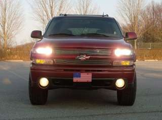 99 01 02 Chevy GMC Truck Head & Fog Light High Beam Kit