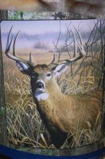 Wild Buck Deer Warm 50x 60 Royal Plush Rashel Throw Blanket