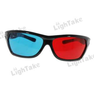 description stylish plastic full frame red blue anaglyph film 3d
