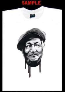 RED FOXX CUSTOM PHOTO T SHIRT TEE sanford son fox 1478
