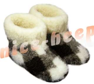 Color  Multi Color Style  Slipper Boots Material  Sheep wool