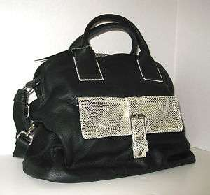 Brand New Tylie Malibu KINGS SNAKE bag Black Ret. $690 LAST ONE