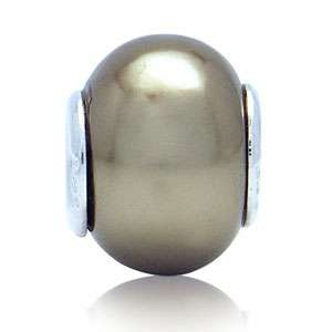 Pearl 925 Sterling Silver European Bead Charm