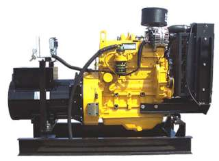 John Deere Powered 30 kW Diesel Generator