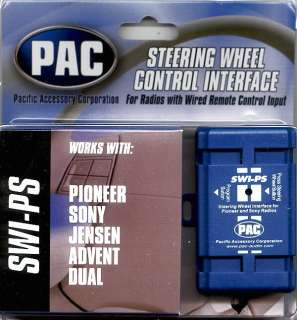 PAC SWI PS Pioneer Steering Wheel Adapter AVIC F900BT