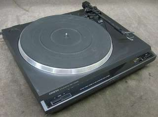 Vintage Onkyo CP 1200A Auto Return Belt Drive Turntable Record Player