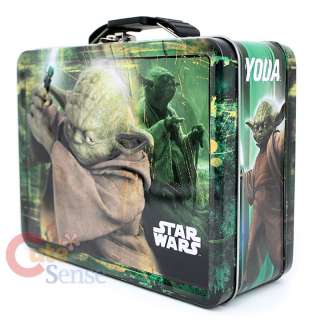 Star Wars Yoda Tin Box , Lunch Case / Metal Toy Box