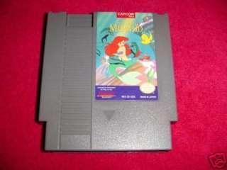 Little Mermaid Disney Original Nintendo NES Games 013388110278
