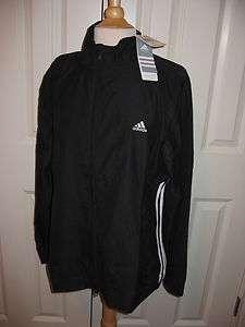 NWT Adidas Womens Peach Poly Jacket Black Size XL 884895939733