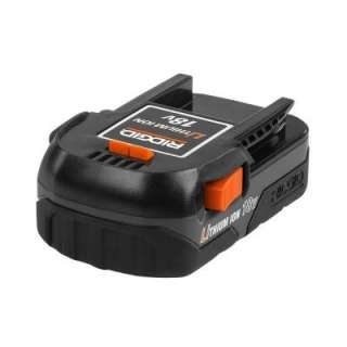 RIDGID Lithium Ion 18 Volt Compact Rechargeable Battery AC840084 at