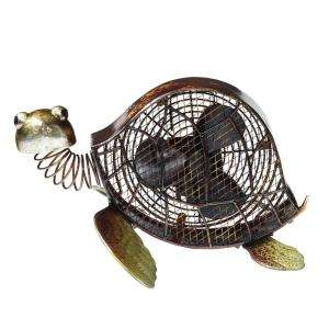Deco Breeze 7 In. Figurine Fan  Sea Turtle DBF0378