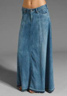 f98eba57a0 CITIZENS OF HUMANITY JEANS Anja Long Skirt in Flurry at Revolve on ...