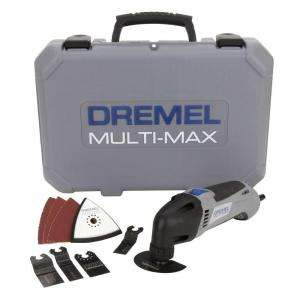 Dremel 120 Volt Multi Max Oscillating Kit with Free Blades