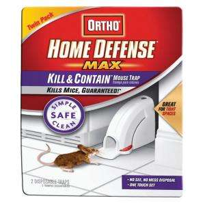 Home Defense Max Mouse Trap from Ortho     Model 320110