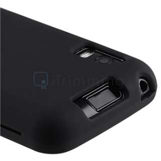 New Premium High Quality Black Rubber Hard Skin Case For Motorola