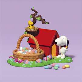 Department 56 Peanuts Snoopys Easter Dog House 59114