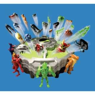 Ben 10 Alien Force Alien Creation Challenge Game Playset Stores