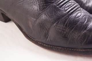 Nocona Black Leather 13 C Mens Western Boots