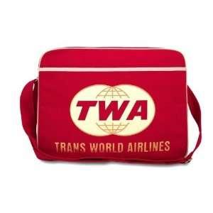 TWA AIRLINES DESIGN TASCHE von Logoshirt sport umhängetasche retro