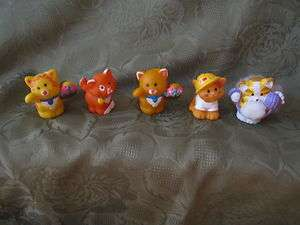 Fisher Price Little People Cat Kitty kitten collection pet store farm