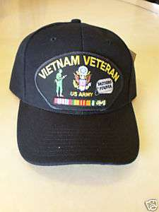 VIETNAM VETERAN US ARMY BROTHERS FOREVER CAP