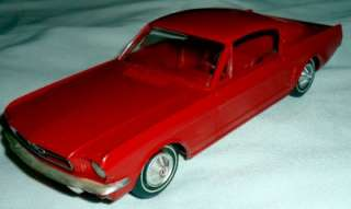 1965 Red Ford Mustang Fastback Promo Car