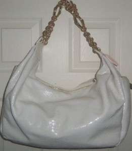 Henri Bendel~ Victoria Secret Designer Collection~ Ivory Snakeskin