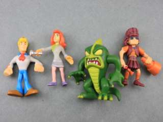 LOT 12 Pcs New Scooby Doo DAPHNE FRED VELMA PIRATE SERIES Figure L321