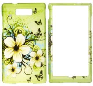 Hawaiian Flower Hard Case Phone Cover for Motorola Triumph WX435