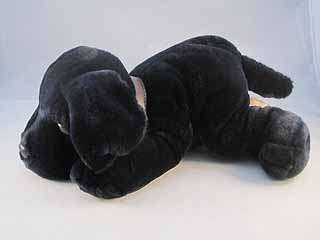 Keel Simply Soft Collection Stuffed Plush Black Lab Mnt