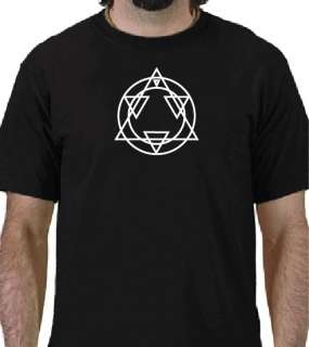 ALS ALCHEMY Logo T shirt Full Metal Alchemist Anime