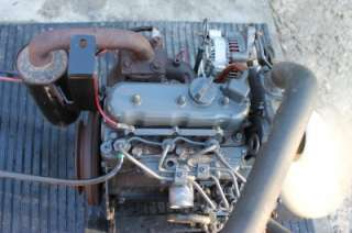 KUBOTA D662 DIESEL ENGINE