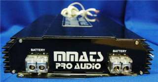 MMATS Professional Audio M Series Amplifier M3000.1D Used