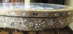 Rare Antique Marble Top Chinese Scholars Table c. 1870