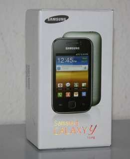Samsung Galaxy Y young GT S5360 metallic grey grau Handy Smartphone