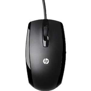 HP optische Maus USB schwarz  Computer & Zubehör