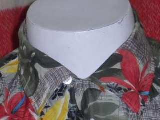60s Vintage Penneys Hawaiian Shirt Japan Rayon Loop L