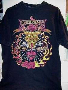 1997 Nine Lives Aerosmith Concert Tour T Shirt New L