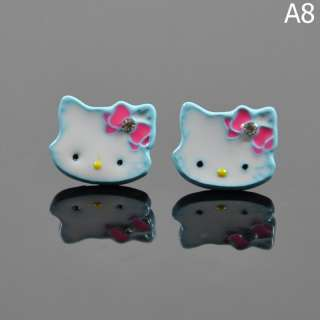 Hello Kitty Stainless Earring 9 Styles birthday gift